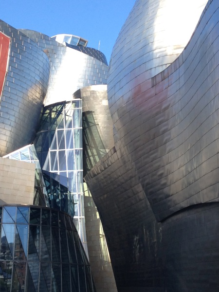 The Guggenheim in Bilbao